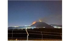 Cháy ở núi Tabor, gần nhà thờ Chúa Biến Hình