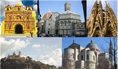 Những nhà thờ có sắc màu độc đáo trên thế giới