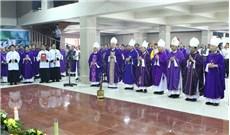 Lễ giỗ mãn tang Ðức cố Giám mục Phanxicô Xaviê Nguyễn Văn Sang