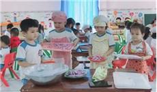 phát triển kỹ năng cho con  tại Trường mầm non
