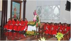 Thánh lễ kính trọng thể thánh giám mục Stêphanô Cuénot Thể