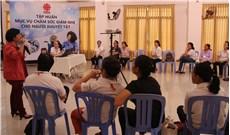 Caritas TGP TPHCM tập huấn Mục vụ  chăm sóc giảm nhẹ  cho người khuyết tật