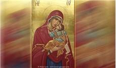 Ðức Mẹ giúp tôi nhìn Ðức Mẹ là mẹ yêu dấu của tôi