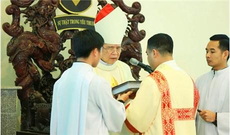 Giáo phận Hưng Hóa có thêm 7 phó tế