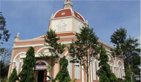 Nhà thờ đẹp ở Trà Vinh