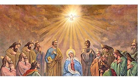Lễ Ngũ Tuần, cộng đoàn yêu thương được thành lập