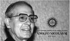 Cha Adolfo Nicolás, S.J.: Một linh mục thật hạnh phúc và tự do