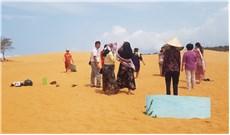 Những người kiếm cơm trên cát
