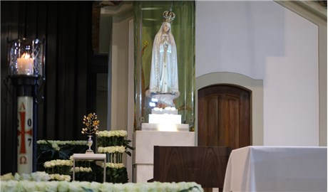 100 năm tượng Ðức Mẹ Fatima