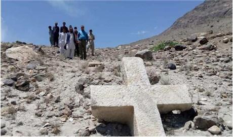 Phát hiện thánh giá 1.200 năm ở miền bắc Pakistan