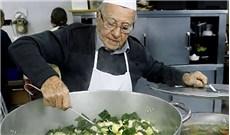 Ðầu bếp già của người vô gia cư ở Rome