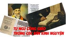 """""""Từ ngữ Công giáo trong các bản kinh nguyện của các giáo phận dòng tại Việt Nam"""""""