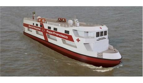 Tàu bệnh viện Đức Giáo Hoàng Phanxicô chống dịch ở Amazon