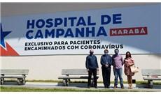 Bệnh viện Brazil nhận máy thở do Đức Thánh Cha tặng