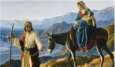 Phép lần hạt Bảy Sự Thương Khó Ðức Bà -Ngắm thứ hai - Mẹ đưa Hài Nhi trốn sang Ai Cập