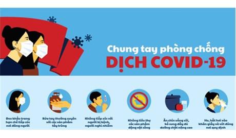 Thành phố Hồ Chí Minh thông báo khẩn, cấm tập trung quá 30 người để phòng ngừa dịch Covid-19.