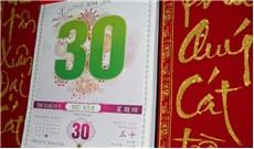 Những tờ lịch cũ...