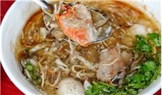 Lót dạ với món súp cua Sài Gòn
