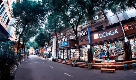 Ðường sách TP Hồ Chí Minh kỷ niệm 5 năm hoạt động