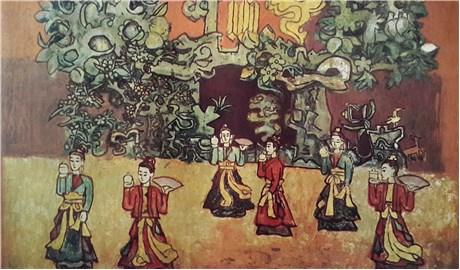Họa sĩ Nguyễn Tư Nghiêm cảm hứng nghệ thuật trong lòng dân tộc
