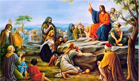 Chúa Giêsu rao giảng và giáo huấn