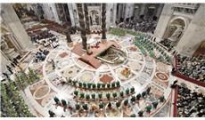 Đức Giáo Hoàng chủ tế thánh lễ khai mạc Thượng Hội đồng Giám mục