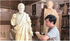 Gặp nghệ nhân tạc tượng Thánh Giuse