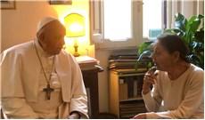 Ðức Thánh Cha thăm văn sĩ Edith Steinschreiber Bruck