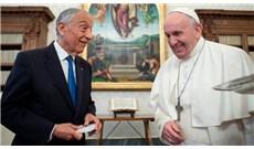Đức Thánh Cha tiếp kiến Tổng thống Bồ Đào Nha