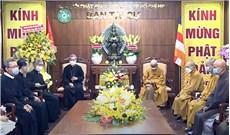 Tòa Tổng Giám mục TPHCM chúc mừng lễ Phật Ðản