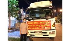 Giáo xứ Gành Hào gởi 1 tấn cá khô và nông sản cho Sài Gòn