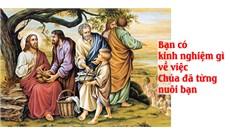 HỌC HỎI PHÚC ÂM CHÚA NHẬT XVII THƯỜNG NIÊN - NĂM B