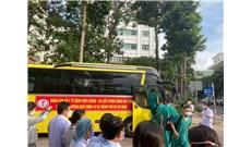 Đoàn y bác sĩ Bình Định hỗ trợ Sài Gòn chống dịch