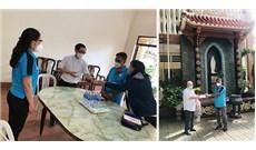 Mặt trận Tổ quốc Việt Nam TPHCM trợ giúp nhà hưu Chí Hòa và Bùi Chu