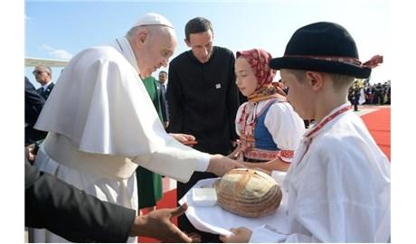 Đức Giáo Hoàng đến Slovakia