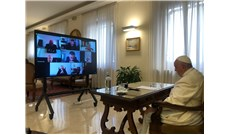 Đức Giáo Hoàng họp trực tuyến với các hồng y