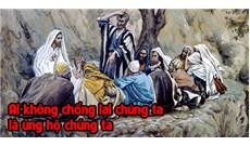 HỌC HỎI PHÚC ÂM CHÚA NHẬT XXVI THƯỜNG NIÊN - NĂM B