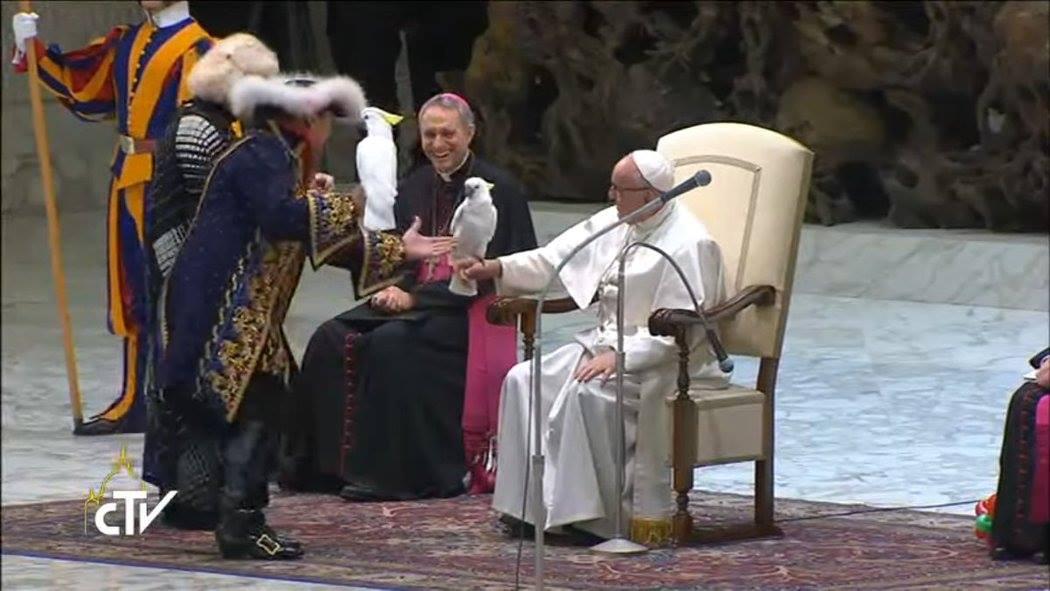 Đức Giáo Hoàng Phanxicô xem xiếc