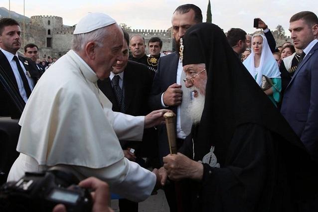 Georgia nồng ấm chào đón Ðức Thánh Cha