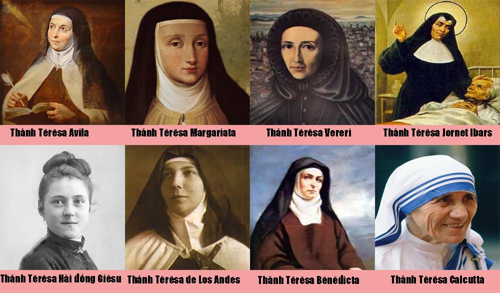 Có bao nhiêu Thánh mang tên Têrêsa?
