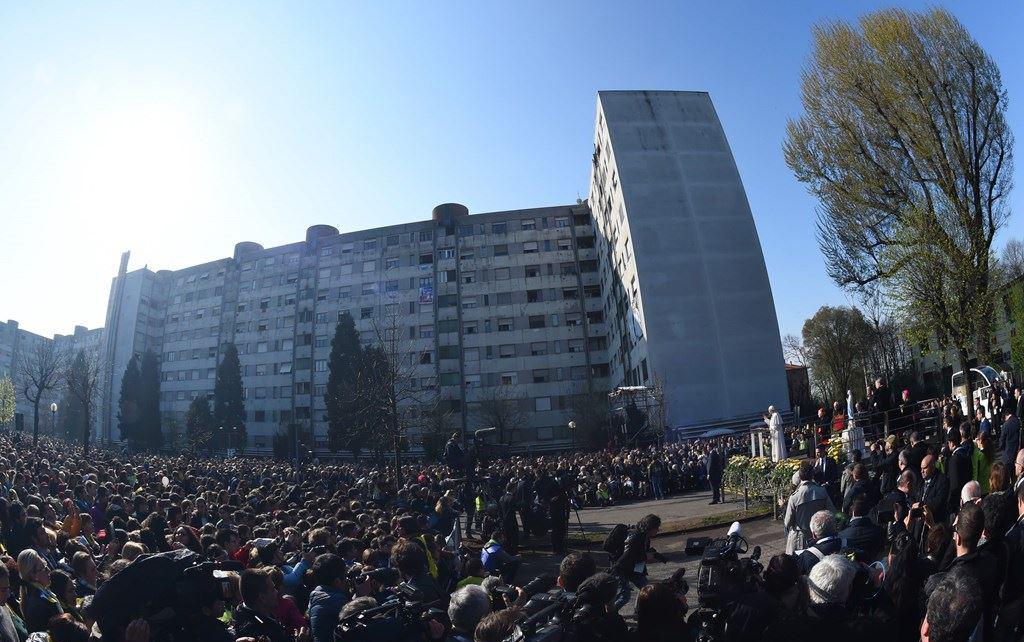 1 triệu người dự lễ do Ðức Phanxicô chủ tế ở Milan