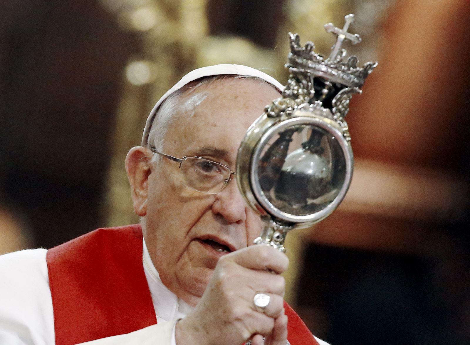 Máu của thánh Januarius