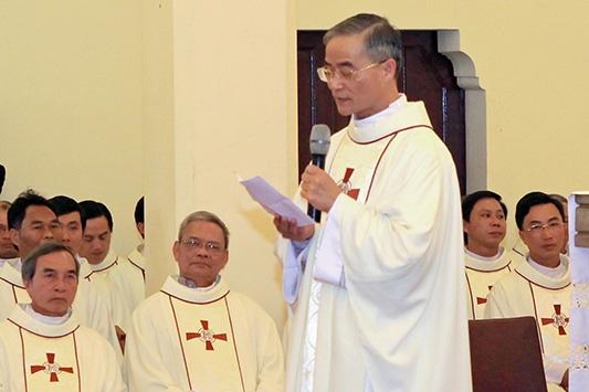 """ĐC Ðaminh Nguyễn Văn Mạnh : """"Tôi mơ ước một Giáo hội là mẹ và là mục tử"""""""