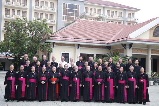Hội đồng Giám mục Việt Nam họp hội nghi thường niên