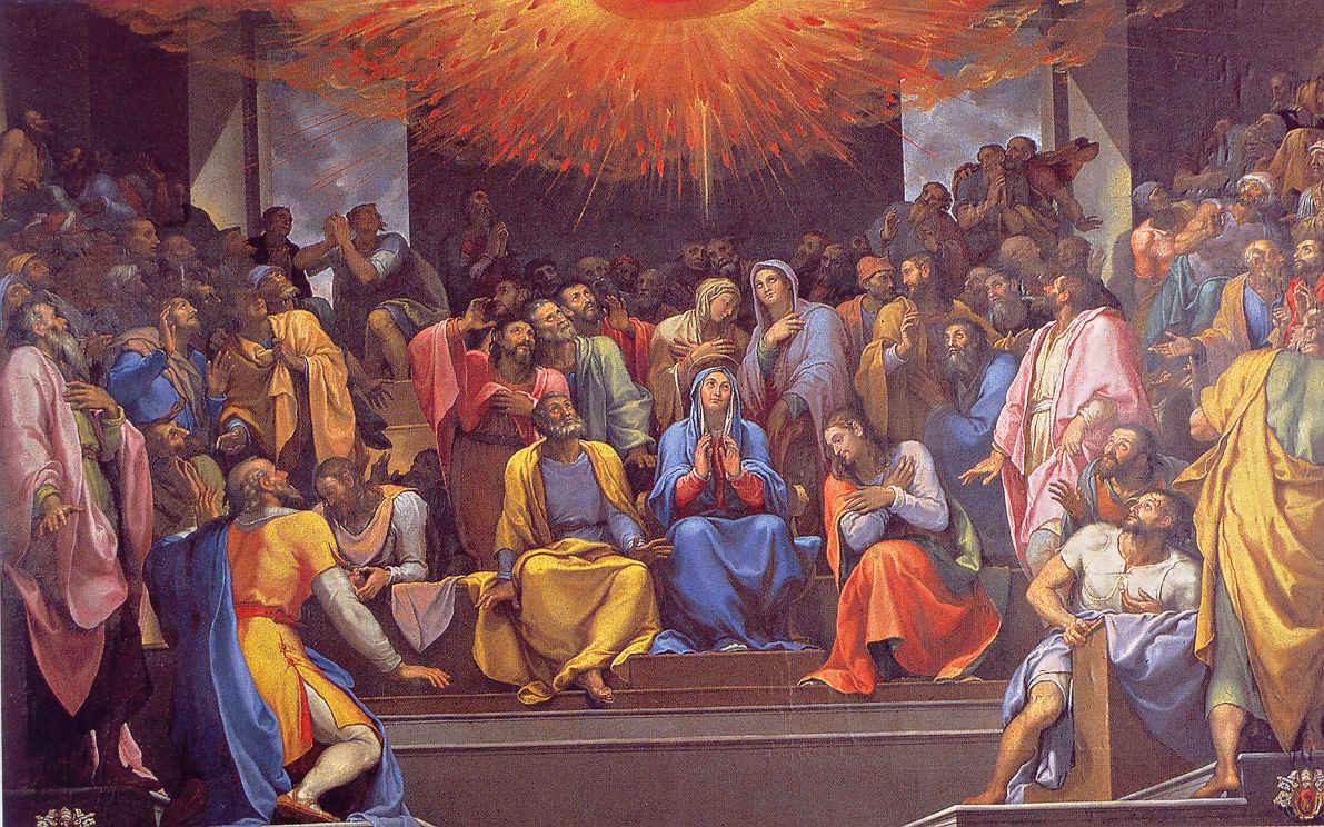 Chúa Thánh Thần sửa lại mọi sự trong ngoài