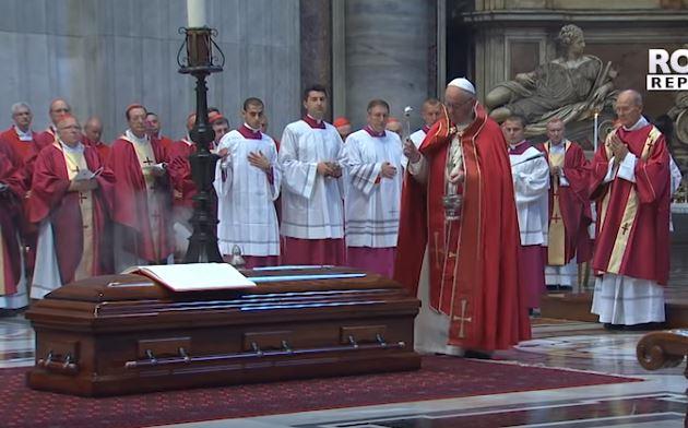 Tang lễ Đức Hồng y Jean-Louis Tauran