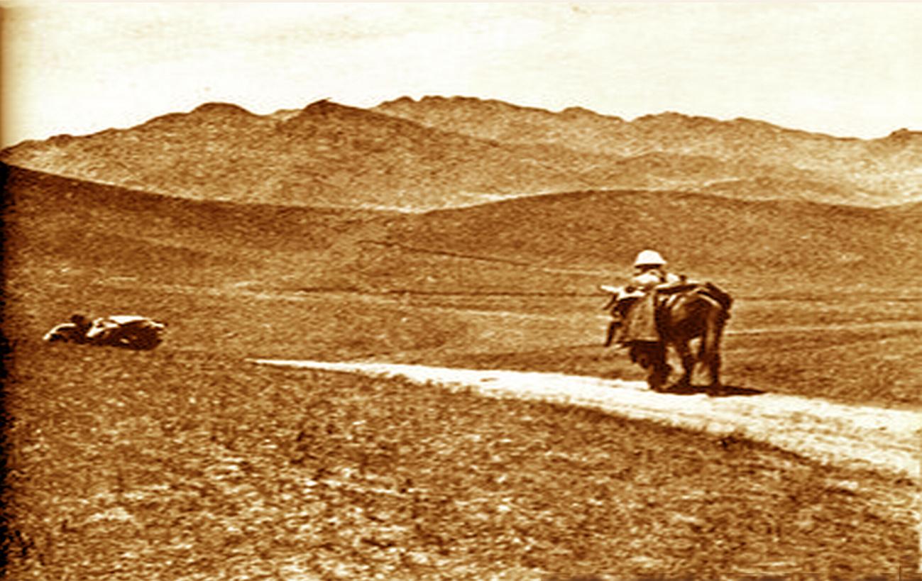 cao nguyên Mông Cổ năm 1924