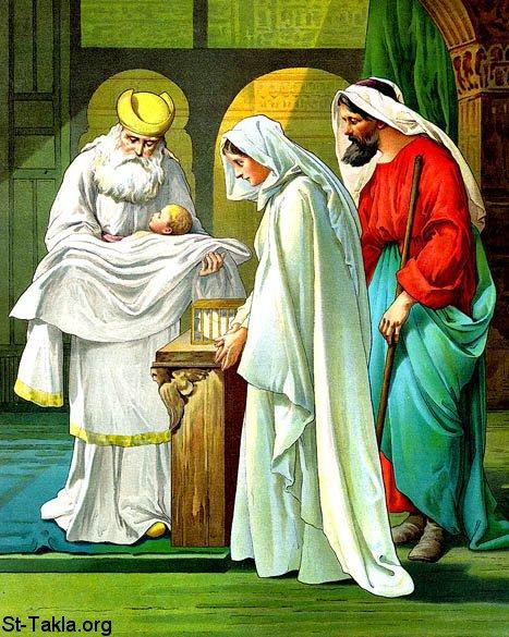 Đức Mẹ dâng Chúa Giêsu vào đền thánh