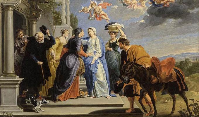 Đức mẹ viếng thăm bà Isave