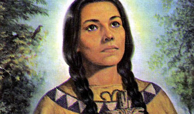 Thánh nữ Kateri Tekakwitha